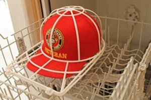 how you can Wash Clean Baseball Hat Cap in Dishwasher
