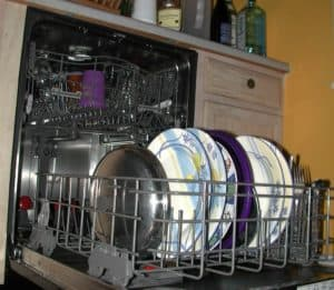 Why is my Bosch dishwasher non-stop draining and won't stop